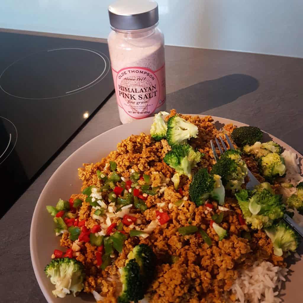 himalayan pink salt tastes amazing