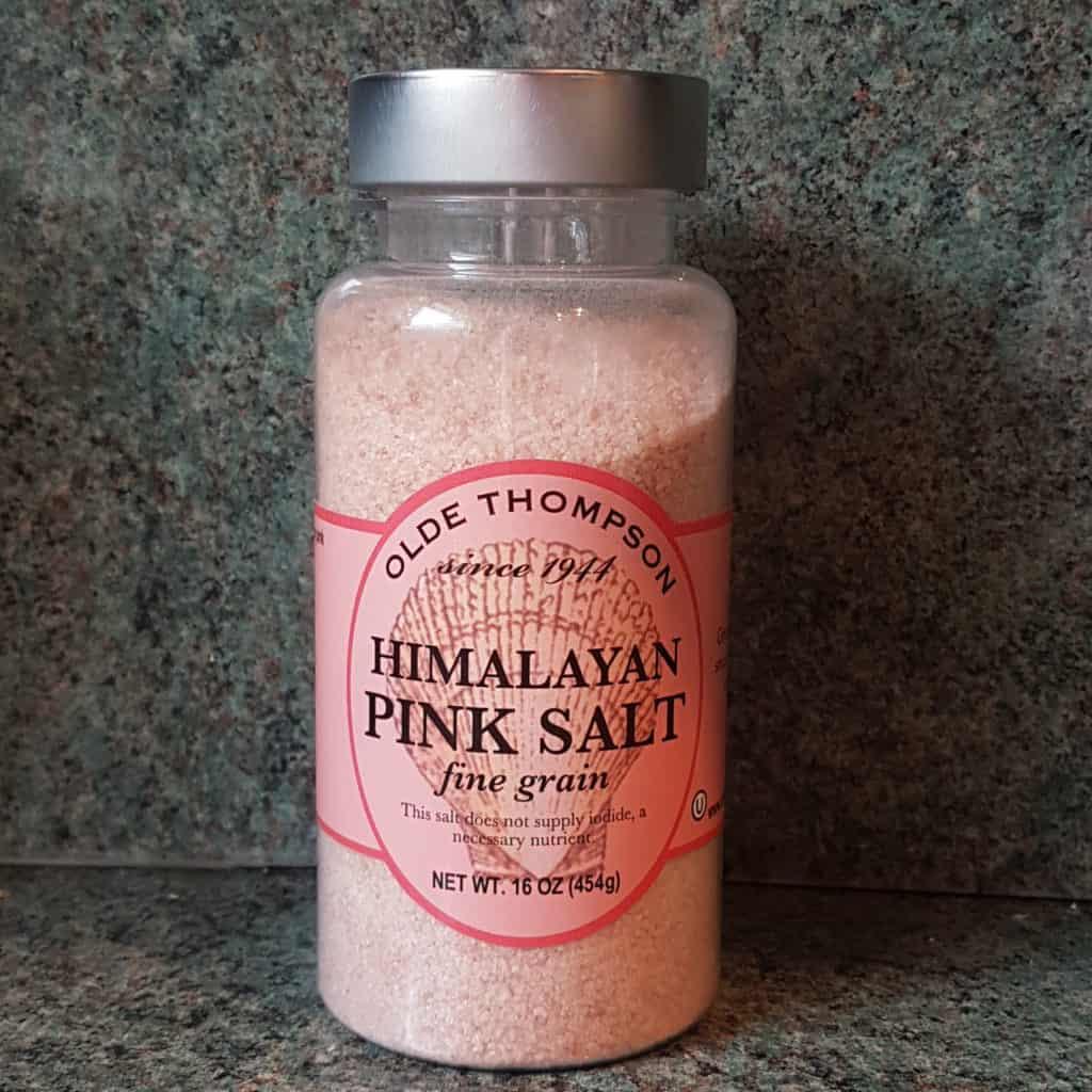 olde thompson himalayan pink salt review