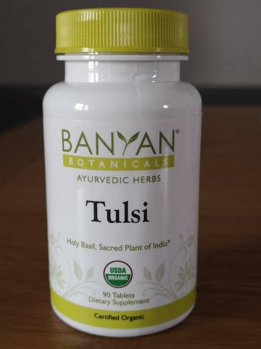banyan botanicals holy basil