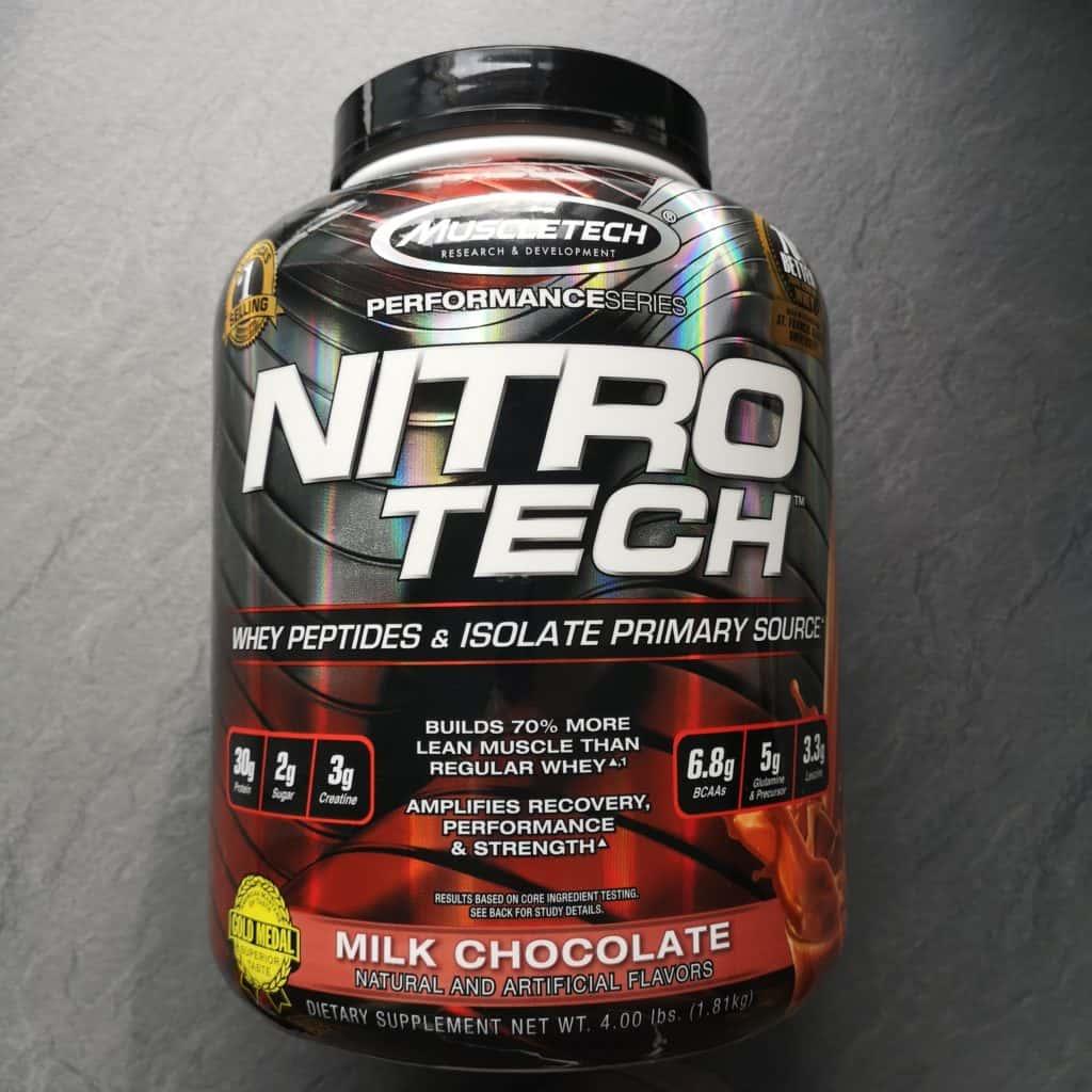 muscletech nitro tech review
