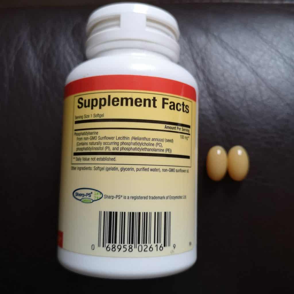 natural factors ps ingredients