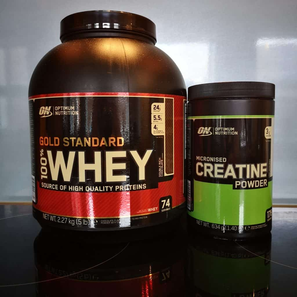 creatine and whey protein