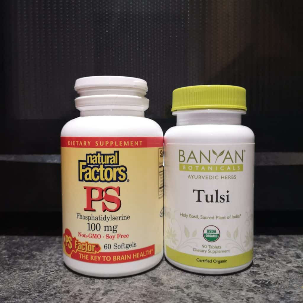 phosphatidylserine and holy basil for anxiety