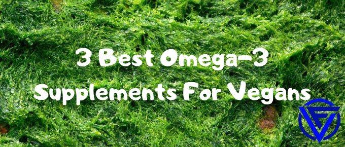 3 Best Omega-3 Supplements For Vegans