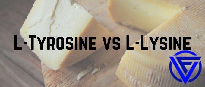 l tyrosine vs l lysine